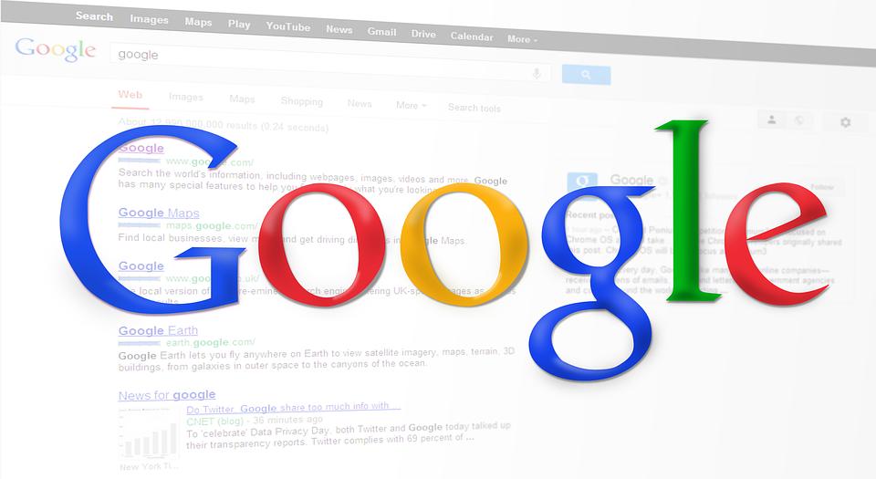 Google nápis